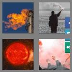 4 pics 1 word 5 letters flare