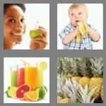 4 pics 1 word 5 letters fruit