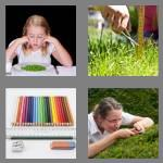 4 pics 1 word 5 letters fussy