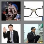 4 pics 1 word 5 letters geeky