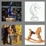 4 pics 1 word 5 letters horse