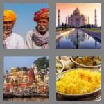 4 pics 1 word 5 letters india
