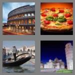 4 pics 1 word 5 letters italy