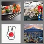 4 pics 1 word 5 letters japan
