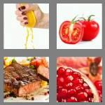 4 pics 1 word 5 letters juicy
