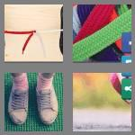 4 pics 1 word 5 letters laces