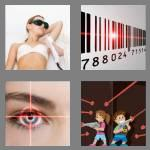 4 pics 1 word 5 letters laser
