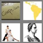 4 pics 1 word 5 letters latin