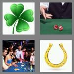 4 pics 1 word 5 letters lucky