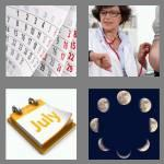 4 pics 1 word 5 letters month