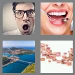 4 pics 1 word 5 letters mouth