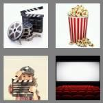 4 pics 1 word 5 letters movie