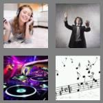 4 pics 1 word 5 letters music