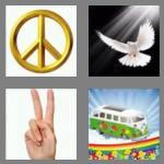 4 pics 1 word 5 letters peace