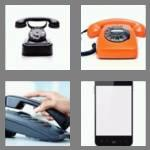 4 pics 1 word 5 letters phone