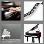 4 pics 1 word 5 letters piano