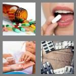 4 pics 1 word 5 letters pills