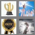 4 pics 1 word 5 letters prize