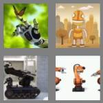 4 pics 1 word 5 letters robot