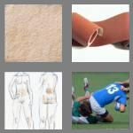 4 pics 1 word 5 letters rough