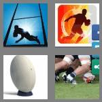 4 pics 1 word 5 letters rugby