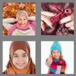 4 pics 1 word 5 letters scarf