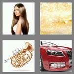 4 pics 1 word 5 letters shiny