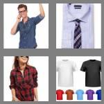 4 pics 1 word 5 letters shirt