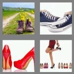4 pics 1 word 5 letters shoes