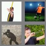 4 pics 1 word 5 letters shoot