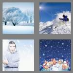 4 pics 1 word 5 letters snowy