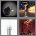 4 pics 1 word 5 letters spark
