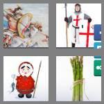 4 pics 1 word 5 letters spear