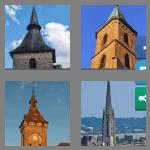 4 pics 1 word 5 letters spire