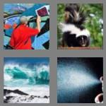 4 pics 1 word 5 letters spray