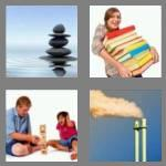4 pics 1 word 5 letters stack