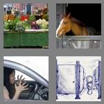 4 pics 1 word 5 letters stall