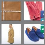 4 pics 1 word 5 letters suede