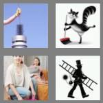 4 pics 1 word 5 letters sweep