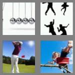 4 pics 1 word 5 letters swing