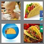 4 pics 1 word 5 letters tacos