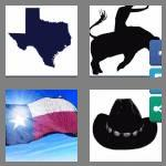 4 pics 1 word 5 letters texas