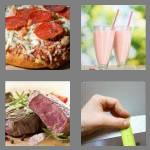 4 pics 1 word 5 letters thick
