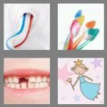 4 pics 1 word 5 letters tooth