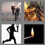 4 pics 1 word 5 letters torch