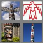 4 pics 1 word 5 letters totem