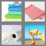 4 pics 1 word 5 letters towel