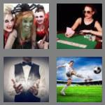 4 pics 1 word 5 letters trick