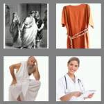 4 pics 1 word 5 letters tunic