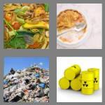 4 pics 1 word 5 letters waste